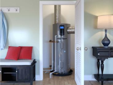 electric hybride water heater heat pump